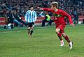 Fábio Coentrão (R) – Portugal vs. Argentina, 9th February 2011 (1).jpg