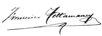F. TETTAMANCY firma