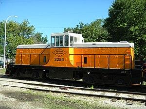 Boone and Scenic Valley Railroad - Image: FD Des M 2254