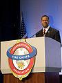 FEMA - 41809 - U.S. Fire Administrator Kelvin Cochran at the podium in Texas.jpg