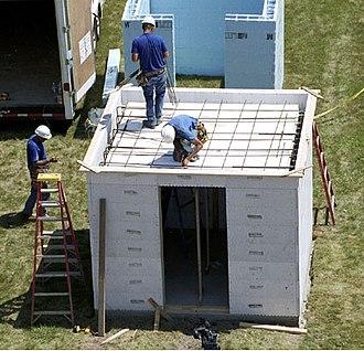 Safe room - Construction of a safe room