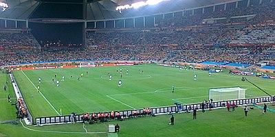 Imagen del partido entre Alemania y Australia con derrota australiana por 4- 0. ff63b6994e813