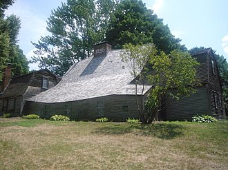 Fairbanks House (Dedham, Massachusetts) - Image: Fairbanks house 1