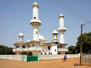 Religion in the Gambia - Image: Faji Kunda mosque