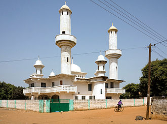 Religion in the Gambia - Mosque in Faji Kunda, the Gambia