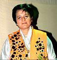 Falguni Pathak at her dandiya show in Goregaon Sports.jpg