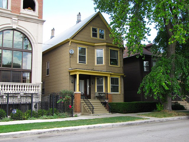 File Family Matters House In Chicago 2010 Jpg Wikimedia