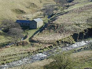 Hope Woodlands - An abandoned farm house near the River Ashop