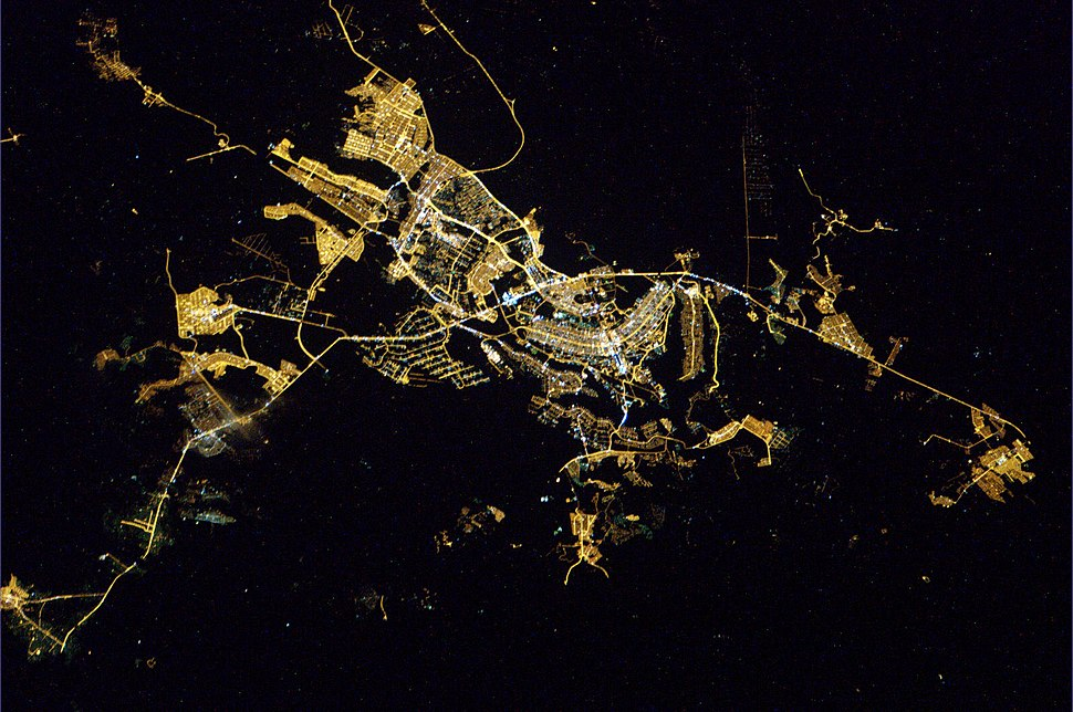 Federal District, Brazil, from space