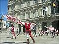 Feira Medieval da Coruña. Abanderados 2.jpg