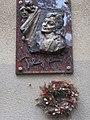 Fejér György utca 6, relief-plaque to Klári Tolnay (2018), 2019 Belváros-Lipótváros.jpg