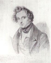 Felix Mendelssohn Bartholdy - Bleistiftzeichnung von Eduard Bendemann 1833.jpg