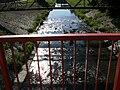 Fence, bridge, river, Zlín..JPG