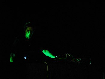 Rome, 2nd of June 2007: Christian Fennesz perf...