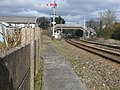 Ferryside, railway and footbridge - geograph.org.uk - 1179318.jpg
