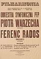 Filharmonia Poznań 04.12.1981, P.Warzecha, F.Rados.jpg