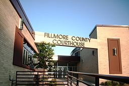 Fillmore Countys domstolshus i Preston.