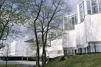Finlandia Hall - West façade