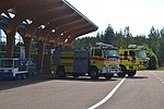 Fire engines at EFJY 20120818.jpg