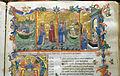 Firenze, commedia di dante, codice miniato da simone camaldolese e aiuti, purgatorio canto I, 1398, tempi 1, c. 32r, 02.JPG