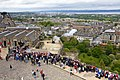 Firing the One o'clock Gun, Edinburgh Castle - geograph.org.uk - 2470099.jpg