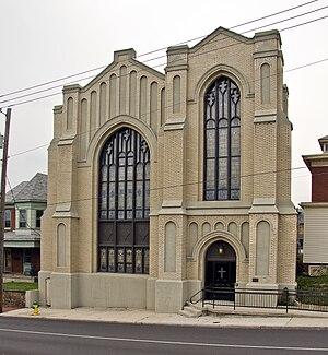First Baptist Church (Cumberland, Maryland) - Image: First Baptist Church Cumberland MD1