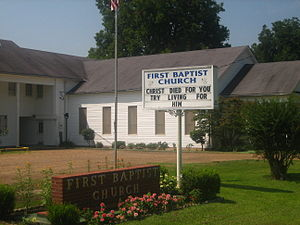 Waterproof, Louisiana - First Baptist Church of Waterproof