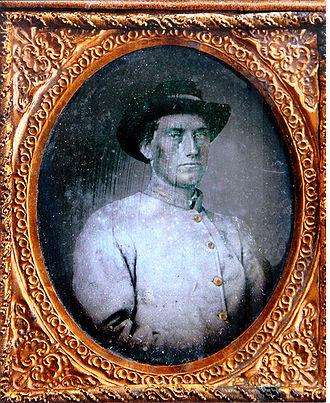 7th Arkansas Infantry Regiment - First Lieutenant Daniel W. Melton, Company B, 7th Arkansas Infantry Regiment