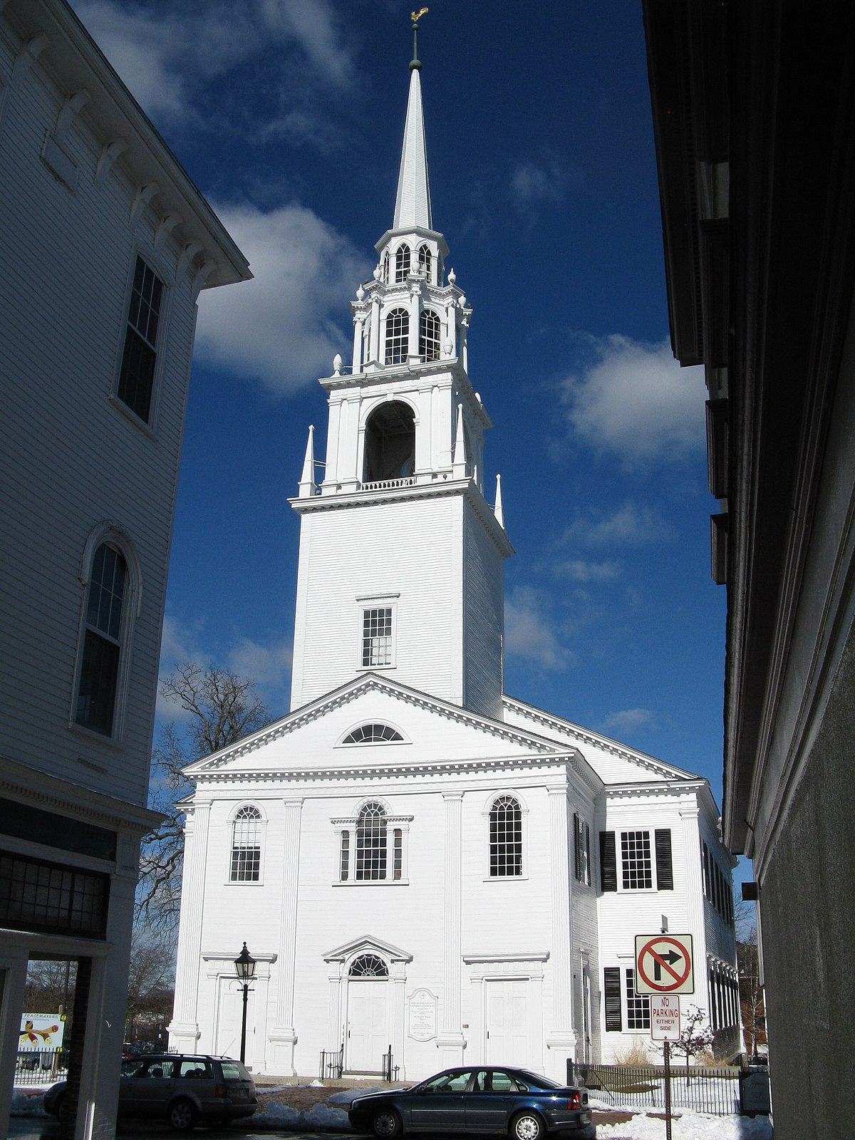 first religious society church and parish hall