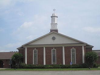 Van, Texas - Image: First United Methodist Church, Van, TX IMG 6613
