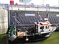 Fishing boat in lock - geograph.org.uk - 569747.jpg