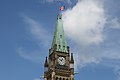 Flag at half mast on the Peace Tower for Jack Layton.jpg