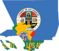 Flag map of Los Angeles.png