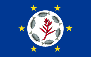 States of Palau - Image: Flag of Airai State