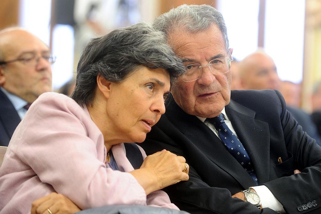 File:Flavia Franzoni and Romano Prodi - Giornata Autonomia 2014 ...