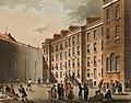 Fleet Prison by Thomas Rowlandson and Augustus Pugin cropped.jpg