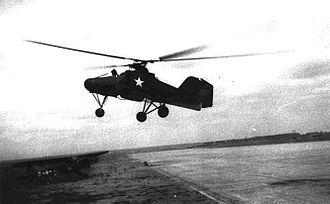 Flettner Fl 282 - Flettner Fl 282 during flight trials after World War II, with US markings.