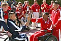 Flickr - Official U.S. Navy Imagery - A Marine Cpl. passes the torch to the U.S. Coast Guard during the opening ceremony of the 2012 Warrior Games competition..jpg