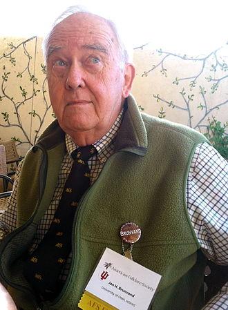 Jan Harold Brunvand - Folklorist Jan Harold Brunvand at an American Folklore Society conference
