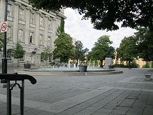 Vauquelin Square - Image: Fontaine Place Vauquelin 02