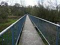 Footbridge at Baswich, Staffordshire. - geograph.org.uk - 1279636.jpg
