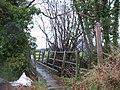 Footbridge at Malehurst - geograph.org.uk - 640231.jpg