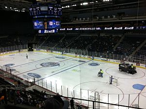 Ford Center (Evansville) - Image: Ford Center Icemen