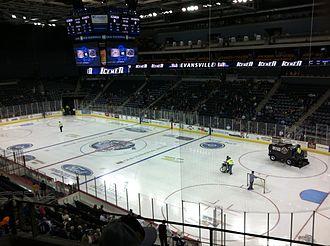 Ford Center (Evansville) - Image: Ford Center Icemen