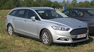 Ford Mondeo (fourth generation) - Image: Ford Mondeo Mk V (estate) in Saarland (cropped)