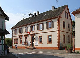 The town hall in Forstfeld