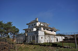 Fort Stark - World War II Harbor Entrance Control Post (HECP), disguised as a seaside mansion