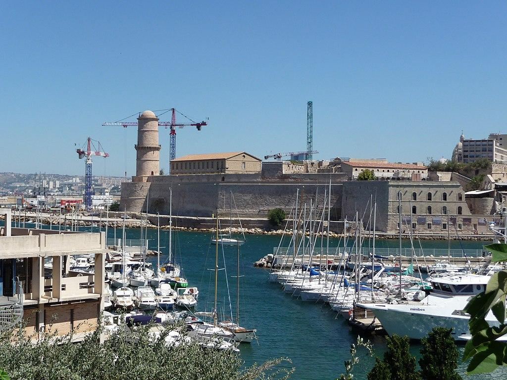 File fort saint jean marseille - Parking vieux port fort saint jean marseille ...