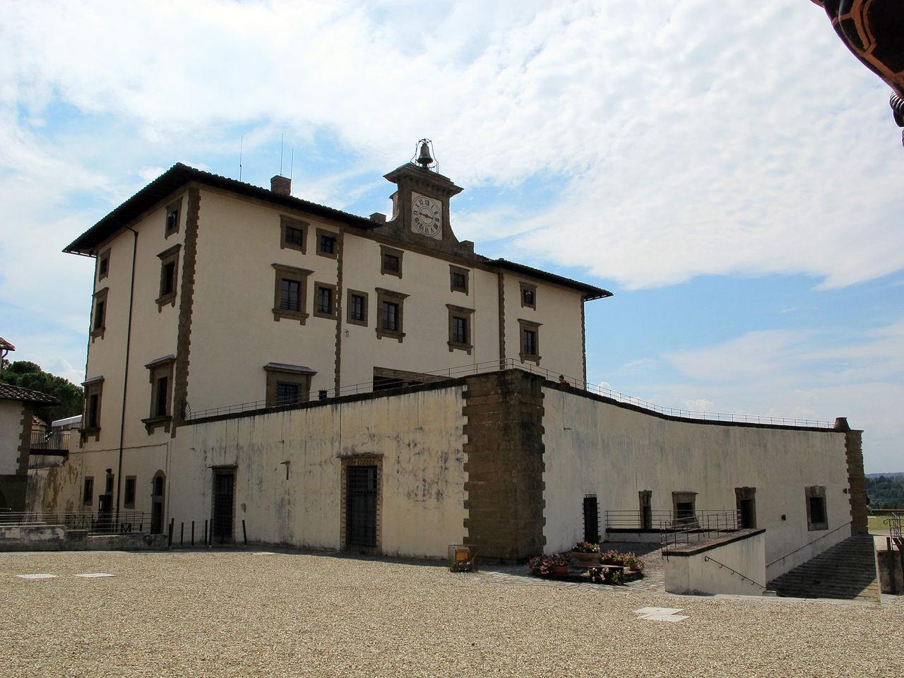 Firenze, Palazzina, l'edificio principale di Forte Belvedere
