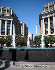 Fountains - United States Navy Memorial